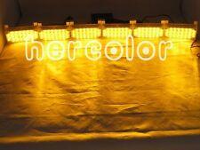 Amber 6x22 LED Flash Emergency Strobe Grill Light