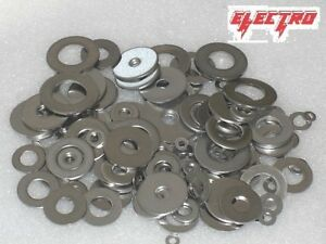 Penny Repair Washers BZP Zinc Plated M5, M6, M8, M10, M12 Various O/D Sizes