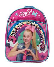 """Jojo Siwa 10"""" Mini Backpack Kids School Book Bag NEW"""
