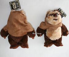 """Star Wars 2015 Wicket W. Warrick The Ewok 9"""" Plush Toy Doll DISNEY Parks Store"""