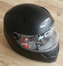 Motorradhelm von Nitro, Modell N2200 UNO, in Grösse XXL und schwarz-matt - NEU