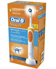 Oral-B 610033 Vitality Precision Toothbrush Clean Orange