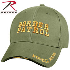Rothco Deluxe Low Profile US Border Patrol Cap Adjustable Hat Olive Drab