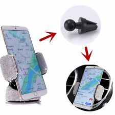 Car Suction Cup Car Outlet Universal Mobile Phone Diamond Bracket Stand Holder