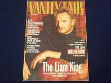1994 DECEMBER VANITY FAIR MAGAZINE - LIAM NEESON COVER - FASHION MODEL - F 4126