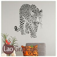 Leopard Wild Animal Wall Art Sticker Large Vinyl Transfer Graphic Decal Home CA8