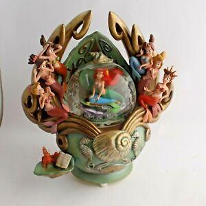 Disney's Little Mermaid Daughters of Triton Musical Snow Globe **BROKEN PIECE**