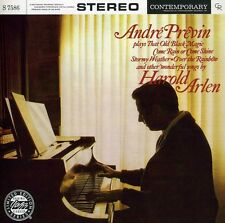 André Previn, Andre - Plays Songs By Harold Arlen [New CD]