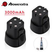 2Pcs 4.8V 3000mAh Battery for Dremel 5000755-01 750-02 MiniMite 7300 Rotary Tool