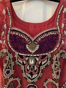 Asian Wedding Dress/ Punjabi Suit/ Pakistani Suit/ Wedding Dress