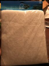 Eshopps Replacement Poly Filter White Pad Refugium/Sump/Wet-Dry WD300 Rectangle