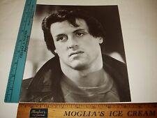 Rare Original VTG Period Young Rocky Sylvester Stallone Portrait Photo Still