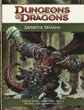 Dungeons & Dragons Monster Manual 4th Edition Book