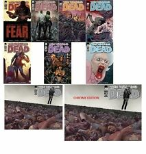 The Walking Dead #100 - 9 Variant Cover Set - July 2012 [Paperback Comics] NEW