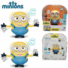 Despicable Me Collector's Edition Talking Singing Action Figures Minion BOB Toy