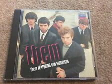 Them Featuring Van Morrison Very Rare West German Pressing CD