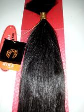"100% HUMAN HAIR YAKY BULK; PRE WASH;STRAIGHT;BRAIDING;20""; #280; NINA COLLECTION"