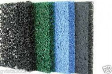 "Matala 4-Pack Gray/Blue/Green/Black Filter Mats 24""x24"" replacement pond media"