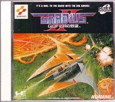 Gradius NES PC-Engine super CD ROM SCD Import NEC PC Engine HuCARD Turbografx 16