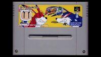 used  Nintendo Super Famicom snes SUPER BOMBERMAN 5 Japan Version