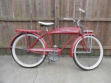 Vintage JC Higgins 50s Tank Bicycle Original Paint Super Clean Great Rider