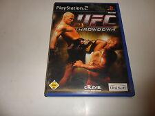 PLAYSTATION 2 Ultimate Fighting Championship Throwdown