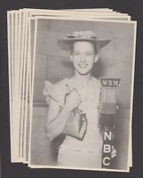 Minnie Pearl (9) Promo Pictures - Grand Ole Opry Nashville - WSM-NBC