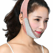 Facial Slimming Double Chin Cheek Band Strap V Face Shaper Sleeping Massage