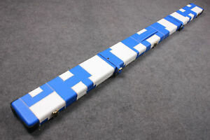One Piece Patchwork Wide Cue Case With 3 Slots 1pc Cue Case