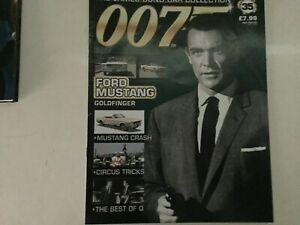 James Bond Die Cast Car Collection - 35 Ford Mustang Goldfinger