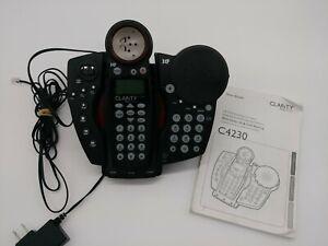 Clarity Cordless Phone Amplified Speakerphone Answering Machine Called ID Phones