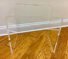 "Acrylic/Lucite Nesting Table 16x High X 12"" Deep X 16"" Long (1/2"" Thick)"