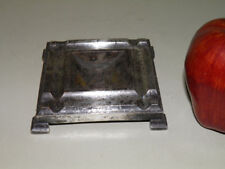 Arts and Crafts Bronze Silverplated Square Trinket Tray