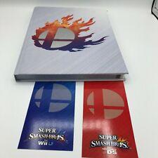 Super Smash Bros Nintendo 3DS Wii U Strategy Guide Collectors Edition RARE Hard