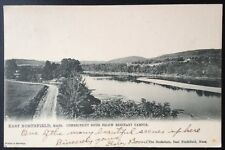 EAST NORTHFIELD, MASS. C.1906 PC. VIEW OF THE CONN. RIVER AND SEMINARY CAMPUS