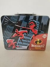 Incredibles 2 Disney Pixar Puzzle Lunch Box NEW Sealed. (Z2)