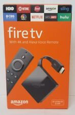 Amazon Fire Tv Box with Alexa Voice Remote 3rd Generation 2017 4K *New