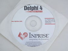 Borland Delphi 4 Update Pack #3 Inprise 16 Bit Windows 98 10985.2 FREE SHIPPING