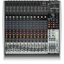 Behringer Xenyx X2442USB 24-Input USB Audio Interface Analog Mixer w/ Effects