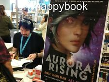 Illumicrate May - AURORA RISING Amie Kaufman Jay Kristoff DOUBLE SIGNED + Letter