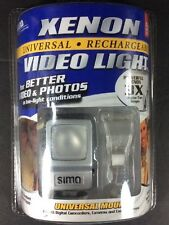 Sima Xenon Video Light Model SL-9X Universal Rechargeable Camcorders Cameras