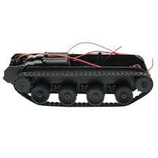 RC Tank Smart Robot Tank Car Chassis Kit Rubber Track Cler for Arduino 130 X5b7