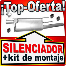 Silenciador Trasero OPEL COMBO 1.7 CDTi desde 2004 Escape RRA