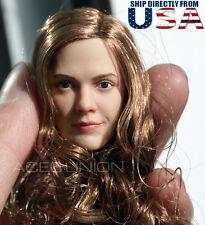 1/6 Emma Watson Female Head Sculpt 3.0 For Hot Toys Phicen Figure U.S.A. SELLER