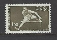 FRANCE # 1348  MNH  SUMMER OLYMPICS MUNICH 1972 HURDLER