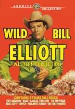 Wild Bill Elliott Western Collection: 8-Movies (3-Disc) NEW DVD