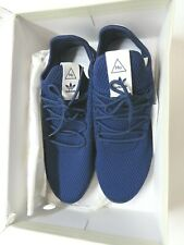 mens Pharrell Willaims Adidas mesh HU Blue sneaker sport gym PW Tennis 13 shoe