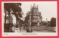 Lansdowne Bournemouth Dorset Old Real Photo Postcard RP RPPC Posted 1912