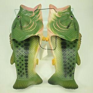 River's Edge Products Bass Fish Sandals Men's  EU 44  US 10.5 M NWT Rivers Edge