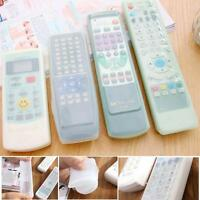TV Remote Control Case Cover Skin Silicone Waterproof Dust stretchable Sleeve JS